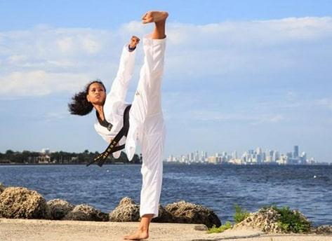 cách đá karate