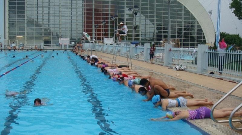 cung thể thao dưới nước mỹ đình
